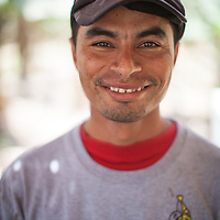 Edwin Ruiz Nieves, banana worker and member of the BOS coop in Salitral, Piura, Peru.
