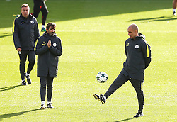 Manchester City manager Pep Guardiola  - Mandatory by-line: Matt McNulty/JMP - 18/10/2016 - FOOTBALL - Manchester City - Training session ahead of Champions League qualifier against FC Barcelona