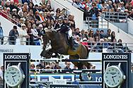 Mathieu BILLOT (FRA) riding SHIVA D'AMAURY during the International Show Jumping of La Baule 2018 (Jumping International de la Baule), on May 18, 2018 in La Baule, France - Photo Christophe Bricot / ProSportsImages / DPPI