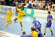 DESCRIZIONE : Handball Tournoi de Cesson Homme<br /> GIOCATORE : Poulain Teddy<br /> SQUADRA : Tremblay<br /> EVENTO : Tournoi de cesson<br /> GARA : Cesson Tremblaye<br /> DATA : 06 09 2012<br /> CATEGORIA : Handball Homme<br /> SPORT : Handball<br /> AUTORE : JF Molliere <br /> Galleria : France Hand 2012-2013 Action<br /> Fotonotizia : Tournoi de Cesson Homme<br /> Predefinita :