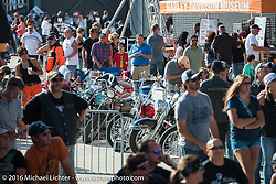 The Harley-Davidson Museum, one of the official venues for the Milwaukee Rally. Milwaukee, WI, USA. Sunday, September 4, 2016. Photography ©2016 Michael Lichter.