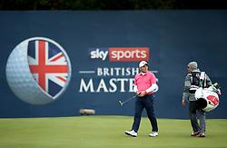 Francesco Molinari during day two of the British Masters at Walton Heath Golf Club, Surrey.