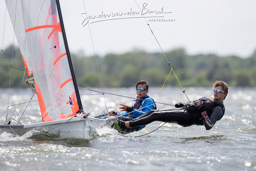 The Allianz Regatta is the first event of the 2021 Hempel World Cup Series. Hosted in Medemblik, The Netherlands, 350 sailors will race across eight Olympic classes across two weeks of competition. 12 June, 2021 © Sander van der Borch / Allianz Regatta