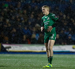 Conor Fitzgerald of Connacht<br /> <br /> Photographer Simon King/Replay Images<br /> <br /> Guinness PRO14 Round 14 - Cardiff Blues v Connacht - Saturday 26th January 2019 - Cardiff Arms Park - Cardiff<br /> <br /> World Copyright © Replay Images . All rights reserved. info@replayimages.co.uk - http://replayimages.co.uk