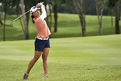 October 26, 2017 - Kuala Lumpur, Malaysia - Lydia Ko of New Zealand on the 18th hole during day one of the Sime Darby LPGA Malaysia at TPC Kuala Lumpur on October 26, 2017 in Kuala Lumpur, Malaysia  (Credit Image: © Chris Jung/NurPhoto via ZUMA Press)