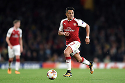 Alexis Sanchez of Arsenal in possession - Mandatory by-line: Patrick Khachfe/JMP - 14/09/2017 - FOOTBALL - Emirates Stadium - London, England - Arsenal v Cologne - UEFA Europa League Group stage