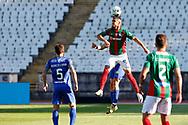 Ali Alipour head kick during the Liga NOS match between Belenenses SAD and Maritimo at Estadio do Jamor, Lisbon, Portugal on 17 April 2021.