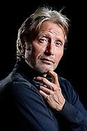 Skuespiller Mads Mikkelsen, aktuel i Thomas Vinterbergs film Druk.