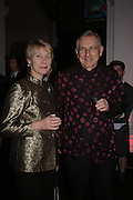 Peter and Virginia Bottomley,Skools Rool, fundraising event  for the Royal Academy Schools.  Burlington St. London. 14 March 2005. ONE TIME USE ONLY - DO NOT ARCHIVE  © Copyright Photograph by Dafydd Jones 66 Stockwell Park Rd. London SW9 0DA Tel 020 7733 0108 www.dafjones.com