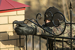 Nov. 4, 2014 - Russia - Fighter of special troops (Credit Image: © Russian Look/ZUMA Wire)
