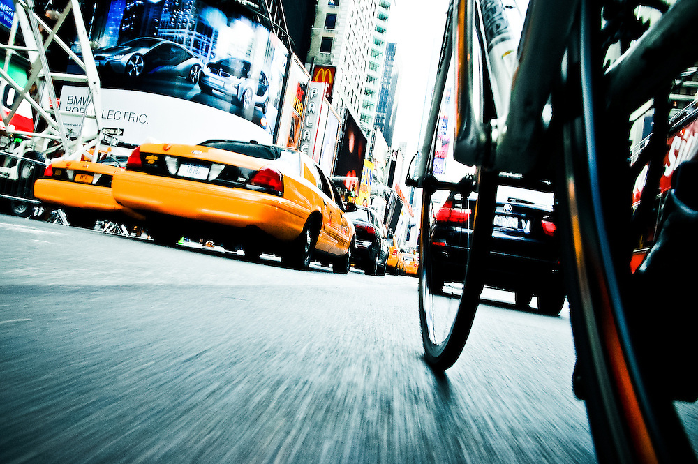 I am a cyclist. I am a photographer. I live in NYC. This, then, is my love letter to NYC. http://blog.tomolesnevich.com/personal-project-nyc-by-bike/