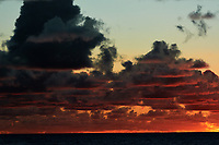 Pacific Ocean Sunrise Panorama viewed from the aft deck of the MV World Odyssey. Image 4 of 20 taken with a Nikon 1 V3 camera and 70-300 mm VR lens (ISO 200, 82 mm, f/8, 1/250 sec). Raw images processed with Capture One Pro and the panorama created using AutoPano Giga Pro.
