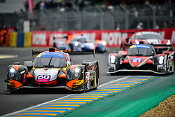June 14, 2018 - Le Mans, FRANCE - 60 CD SPORT (FRA) NORMA M30 NISSAN NICOLAS MELIN (FRA) JULIEN PIGUET  (Credit Image: © Panoramic via ZUMA Press)