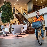Nederland, Amsterdam, 2 november 2016.<br /> <br /> Imad Qutob, Director of Brand Marketing at Takeaway.com N.V. <br /> <br /> Foto: Jean-Pierre Jans