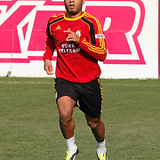 Galatasaray's players Colin Kazim RICHARDS during their training session at the Jupp Derwall training center, Thursday, January 20, 2011. Photo by TURKPIX