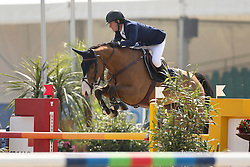 Veniss Pedro, (BRA) - Anaya Ste Hermelle<br /> Preis der Vitra GmbH<br /> Hagen - Horses and Dreams 2015<br /> © Hippo Foto - Stefan Lafrentz<br /> 24/04/15
