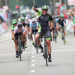 30-08-2017: Wielrennen: Boels Ladies Tour: Arnhem  <br /> ARNHEM (NED) wielrennen<br />  De tweede etappe van de Boels Ladies Tour is gewonnen door Kirsten Wild. De renster van Cylance toonde zich de snelste in de massasprint. Wild wist in Arnhem Maria Giullia Confanieri voor te blijven.