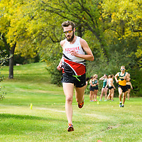Matt Johnson competes during the annual Cougar Trot on September 17 at Douglas Park. Credit: Arthur Ward/Arthur Images