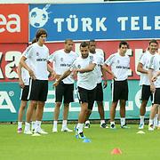 Besiktas's  players during their new season training at BJK Nevzat Demir training center in Istanbul, Turkey, 30 June 2011. Photo by TURKPIX