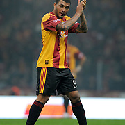 Galatasaray's Colin Kazim RICHARDS during their Friendly soccer match Galatasaray between Ajax at the Turk Telekom Arena at Arslantepe in Istanbul Turkey on Saturday 15 January 2011. Turkish soccer team Galatasaray new stadium Turk Telekom Arena opening ceremony. Photo by TURKPIX