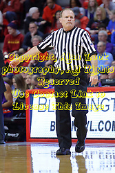 29 December 2016:  Gerry Pollard during an NCAA  MVC (Missouri Valley conference) mens basketball game between the Evansville Purple Aces the Illinois State Redbirds in  Redbird Arena, Normal IL