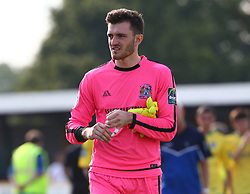 August 28, 2017 - London, United Kingdom - Tim Brown of Thurrock FC.during Bostik League Premier Division match between Thurrock vs Billericay Town at  Ship Lane Ground, Aveley on 28 August 2017  (Credit Image: © Kieran Galvin/NurPhoto via ZUMA Press)
