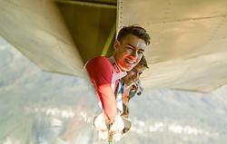 09.10.2014, Bergisel, Innsbruck, AUT, OeSV, Oesterreichische Staatsmeisterschaften Ski Nordisch, im Bild Stefan Kraft (AUT) // during Austrian Nordic Ski Championships at the Bergisel Hill, Innsbruck, Austria on 2014/10/09. EXPA Pictures © 2014, PhotoCredit: EXPA/ JFK