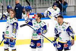 John Hughes of EC Grand Immo VSV during ice hockey match between HK SZ Olimpija Ljubljana and EC GRAND Immo VSV in bet-at-home ICE Hockey League, on October 22, 2021 in Hala Tivoli, Ljubljana, Slovenia. Photo by Morgen Kristan / Sportida