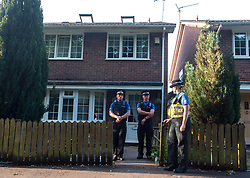 June 19, 2017 - Cardiff, UK - London News Pictures. 19-06-17.  Cardiff, UK. South Wales Police search a property in Glyn Rhosyn, Pentwyn, in the NE of Cardiff in connection with the Finsbury Park attack earlier today in London. Picture Credit:Ian Homer/LNP (Credit Image: © Ian Homer/London News Pictures via ZUMA Wire)