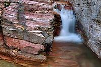 Virginia Falls Glacier National Park Montana USA