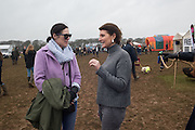 CLARE NEATE-JAMES; COCO LAMBERT, The Heythrop Hunt Point to Point. Cocklebarrow. 24 January 2016