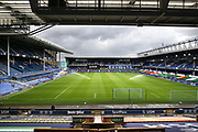Goodison Park is ready and awaits the visit of Bournemouth for the final game of the season in the Premier League match between Everton and Bournemouth at Goodison Park, Liverpool, England on 26 July 2020.