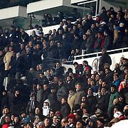 Besiktas's Supporters fans during their Turkish superleague soccer match Besiktas between Kasimpasa at the BJK Inonu Stadium in Istanbul Turkey on Saturday, 16 March 2013. Photo by Aykut AKICI/TURKPIX