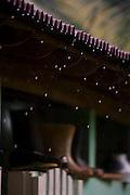 Conceicao do Castelo_ES, Brasil...Casa da localidade de Monforte Frio onde mora a professora da comunidade. A comunidade faz parte da Rota Imperial...A house in Monforte Frio, in this house lives the community teacher. This community is part of Imperial Route...Foto: LEO DRUMOND / NITRO