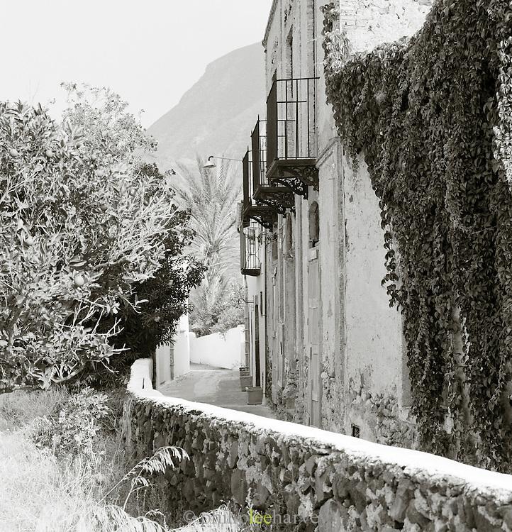 Street scene, Salina, Aeolian Islands, Italy