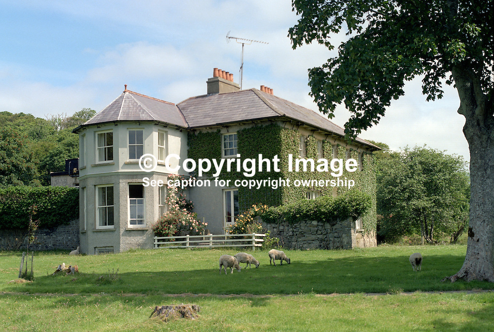 Murvagh House, home, Karl von Oppen, Flaume von Oppen, Laghey, Co Donegal, Rep of Ireland, 19840091MH.<br /> <br /> Copyright Image from Victor Patterson, Belfast, UK<br /> <br /> t: +44 28 9066 1296 (from Rep of Ireland 048 9066 1296)<br /> m: +44 7802 353836<br /> e: victorpattersonbelfast@gmail.com<br /> <br /> www.images4media.com<br /> <br /> Please see my full Terms and Conditions of Use at https://www.images4media.com/p/terms-conditions - it is IMPORTANT that you familiarise yourself with them.<br /> <br /> Images used online incur an additional cost. This cost should be agreed in writing in advance. Online images must be visibly watermarked i.e. © Victor Patterson or that of the named photographer within the body of the image. The original metadata must not be deleted from images used online.<br /> <br /> This image is only available for the use of the download recipient i.e. television station, newspaper, magazine, book publisher, etc, and must not be passed on to a third party. It is also downloaded on condition that each and every usage is notified within 7 days to victorpattersonbelfast@gmail.com.<br /> <br /> The right of Victor Patterson (or the named photographer) to be identified as the author is asserted in accordance with The Copyright Designs And Patents Act (1988). All moral rights are asserted.