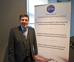 Pictured: Jamie Hepburn, Employment and training minister, MSP.<br /> Employment and training minister Jamie Hepburn MSP responded to the latest labour market statistics while attending the annual conference of learning technologies provider eCom Scotland in Edinburgh today.<br /> <br /> Ger Harley   EEm 15 March 2017