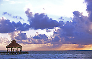 Belize boast the second largest tropical reef in the world...and some beautiful sunsets.
