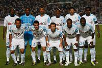 FOOTBALL - TROPHEE DE CHAMPIONS 2010 - OLYMPIQUE MARSEILLE v PARIS SAINT GERMAIN - 28/07/2010 - PHOTO PHILIPPE LAURENSON / DPPI - OM TEAM