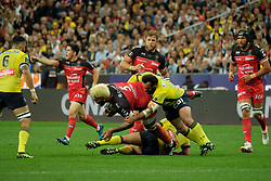 June 5, 2017 - Saint Denis, Seine Saint Denis, France - CHOULY (C.) player of the ASM Clermont-Auvergne, during the final of the French Rugby Championship Top 14 against Rugby Club Toulonnais at the Stade de France - St Denis France.ASM Clermont beat RC Toulon 22-16 (Credit Image: © Pierre Stevenin via ZUMA Wire)