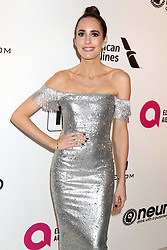 February 24, 2019 - West Hollywood, CA, USA - LOS ANGELES - FEB 24:  Louse Roe at the Elton John Oscar Viewing Party on the West Hollywood Park on February 24, 2019 in West Hollywood, CA (Credit Image: © Kay Blake/ZUMA Wire)