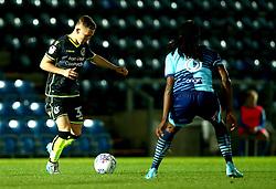 Luke Russe of Bristol Rovers takes on Marcus Bean of Wycombe Wanderers - Mandatory by-line: Robbie Stephenson/JMP - 29/08/2017 - FOOTBALL - Adam's Park - High Wycombe, England - Wycombe Wanderers v Bristol Rovers - Checkatrade Trophy