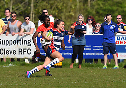 Jasmine Joyce of Bristol Ladies - Mandatory by-line: Paul Knight/JMP - 09/04/2017 - RUGBY - Cleve RFC - Bristol, England - Bristol Ladies v Saracens Women - RFU Women's Premiership Play-off Semi-Final