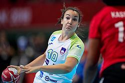 03-12-2019 JAP: Slovenia - Angola, Kumamoto<br /> Third match 24th IHF Women's Handball World Championship, Slovenia loss the third match against Angola with 24 - 33. / Tjasa Stanko #10 of Slovenia