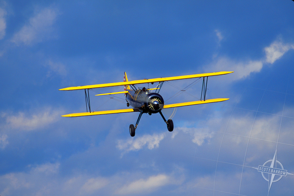 Sterman Bi-Plane