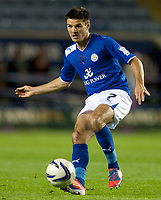 Football - The Championship- Leicester  v Burnley-Leicester's Ben Marshall at The King Power Stadium