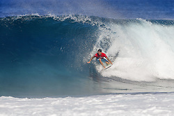 December 18, 2017 - Oahu, Hawaii, U.S. - 2014 World Champion and title contender Gabriel Medina of Brasil advances to the Quarterfinals of the 2017 Billabong Pipe Masters after winning Heat 3 of Round Five at Pipe, Hawaii, USA...Billabong Pipe Masters 2017, Hawaii, USA - 18 Dec 2017 (Credit Image: © WSL via ZUMA Wire/ZUMAPRESS.com)