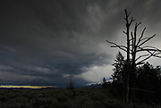 Approaching storm in Grand Teton National Park