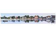 An unusual view across Emsworth harbour, on the Hampshire Sussex border. Beautiful still reflections in the water.   <br /> Beautiful landscape picture by Christopher Ison ©<br /> 07544044177<br /> chris@christopherison.com<br /> www.christopherison.com