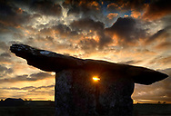 Photographer: Chris Hill, Poulnabrone Dolmen, Burren, County Clare